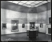 """view Installation view of """"Retrospective Exhibition of Important Works of John Singer Sargent,"""" Grand Central Art Galleries, New York [photograph] / (photographed by Peter A. Juley & Son) digital asset number 1"""