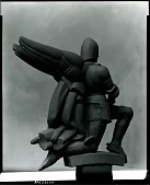 view St. Michael [art work] / (photographed by Peter A. Juley & Son) digital asset number 1