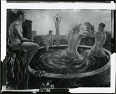view The Bathers [painting] / (photographed by Peter A. Juley & Son) digital asset number 1