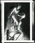 view Female Acrobat (High Diver) [painting] / (photographed by Peter A. Juley & Son) digital asset number 1