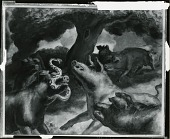 view Hogs Killing a Snake painting] / (photographed by Peter A. Juley & Son) digital asset number 1