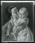 view Mother and Child [painting] / (photographed by Peter A. Juley & Son) digital asset number 1