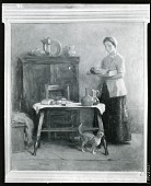 view Interior: Servant's Repast [painting] / (photographed by Peter A. Juley & Son) digital asset number 1