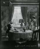 view The Green Lamp [painting] / (photographed by Peter A. Juley & Son) digital asset number 1