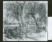 view Borghese Gardens? [painting] / (photographed by Peter A. Juley & Son) digital asset number 1