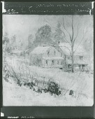 view Country House in Winter, Cos Cob [painting] / (photographed by Peter A. Juley & Son) digital asset number 1