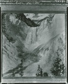 view Lower Falls, Yellow Stone [painting] / (photographed by Peter A. Juley & Son) digital asset number 1