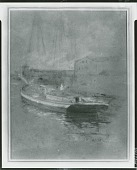 view Newport Harbor [painting] / (photographed by Peter A. Juley & Son) digital asset number 1