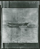 view Bark and Schooner [painting] / (photographed by Peter A. Juley & Son) digital asset number 1