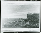 view Berkeley Rock at Newport [painting] / (photographed by Peter A. Juley & Son) digital asset number 1