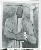 view Figure of a Woman, [painting] / (photographed by Peter A. Juley & Son) digital asset number 1