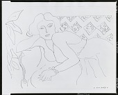 view Woman [drawing] / (photographed by Peter A. Juley & Son) digital asset number 1