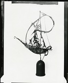 view (No Title Given: Sailing Vessel?) [sculpture] / (photographed by Peter A. Juley & Son) digital asset number 1