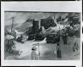 view No Title Given: Town Scene [drawing] / (photographed by Peter A. Juley & Son) digital asset number 1