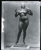 view Standing Woman (Elevation) [sculpture] / (photographed by Peter A. Juley & Son) digital asset number 1