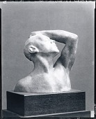 view Portrait Head of Athlete [sculpture] / (photographed by Peter A. Juley & Son) digital asset number 1