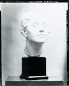 view Head for Titanic Memorial [sculpture] / (photographed by Peter A. Juley & Son) digital asset number 1
