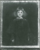 view No Title Given: Portrait of a Child [painting] / (photographed by Peter A. Juley & Son) digital asset number 1