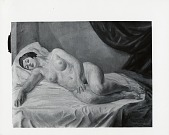 view Large White Nude [painting] / (photographed by Peter A. Juley & Son) digital asset number 1