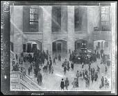 view Grand Central Station [painting] / (photographed by Peter A. Juley & Son) digital asset number 1