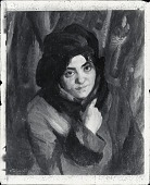 view Amelia Rose, Red Coat [painting] / (photographed by Peter A. Juley & Son) digital asset number 1