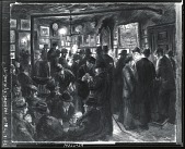 view McSorley's Saturday Night [painting] / (photographed by Peter A. Juley & Son) digital asset number 1