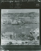 view Gloucester Harbor [painting] / (photographed by Peter A. Juley & Son) digital asset number 1
