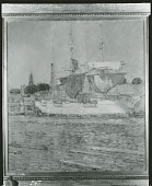 view The Italian Barque, Gloucester [painting] / (photographed by Peter A. Juley & Son) digital asset number 1