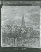 view St. Marks in the Bowery [painting] / (photographed by Peter A. Juley & Son) digital asset number 1