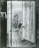 view A Window in France [painting] / (photographed by Peter A. Juley & Son) digital asset number 1