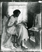 view The Milliner [painting] / (photographed by Peter A. Juley & Son) digital asset number 1