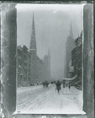 view Fifth Avenue in Winter [painting] / (photographed by Peter A. Juley & Son) digital asset number 1