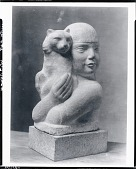 view Child and Cat [sculpture] / (photographed by Peter A. Juley & Son) digital asset number 1