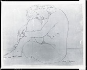 view Nude Figure [drawing] / (photographed by Peter A. Juley & Son) digital asset number 1