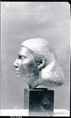 view Female Portrait Head [sculpture] / (photographed by Peter A. Juley & Son) digital asset number 1