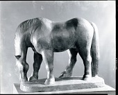 view Horse Grazing [sculpture] / (photographed by Peter A. Juley & Son) digital asset number 1