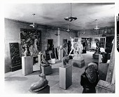 view Marguerite and William Zorach's Studio in Brooklyn, NY [photograph] / (photographed by Peter A. Juley & Son) digital asset number 1
