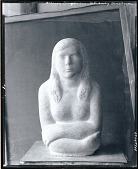 view The Artist's Daughter [sculpture] / (photographed by Peter A. Juley & Son) digital asset number 1