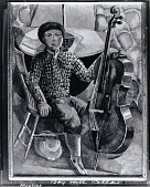 view Boy with Cello [painting] / (photographed by Peter A. Juley & Son) digital asset number 1