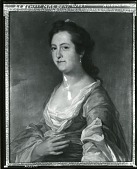 view Mrs. Benjamin West [painting] / (photographed by Peter A. Juley & Son) digital asset number 1