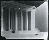 view Model of Temple of Science, Pittsburgh [sculpture] / (photographed by Peter A. Juley & Son) digital asset number 1