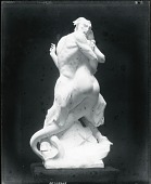 view Satyr and Mermaid [sculpture] / (photographed by Peter A. Juley & Son) digital asset number 1