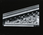 """view United States Supreme Court Building, Model for pediment """"Equal Justice Under Law"""" [sculpture] / (photographed by Peter A. Juley & Son) digital asset number 1"""