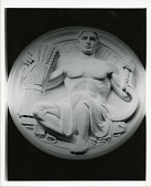 view National Archives Building, Model for Seals of the Federal Government: Agriculture [sculpture] / (photographed by Peter A. Juley & Son) digital asset number 1