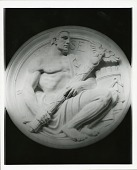 view National Archives Building, Model for Seals of the Federal Government: House of Representatives [sculpture] / (photographed by Peter A. Juley & Son) digital asset number 1