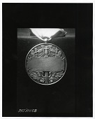 view New York Central Lines For Valor Medal (Reverse) [sculpture] / (photographed by Peter A. Juley & Son) digital asset number 1