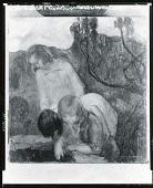 view Children at an Abandoned Well [painting] / (photographed by Peter A. Juley & Son) digital asset number 1
