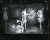 view Children with Sparklers [painting] / (photographed by Peter A. Juley & Son) digital asset number 1