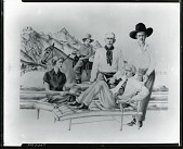 view Portrait of Resor Family in Jackson Hole [drawing] / (photographed by Peter A. Juley & Son) digital asset number 1