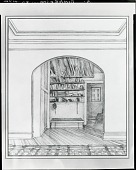 view Fiske Place [drawing] / (photographed by Peter A. Juley & Son) digital asset number 1